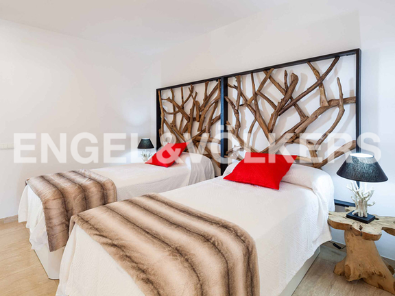 Condominium in Ibiza - Double bedroom