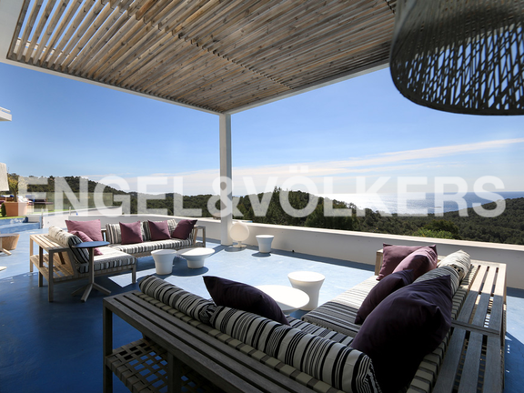 House in Ntra. Sra. de Jesús - Terrace with chill-out