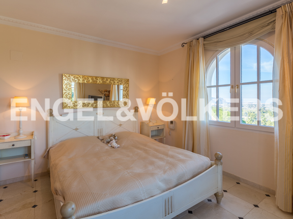 House in La Sella Golf - Bedroom with views.
