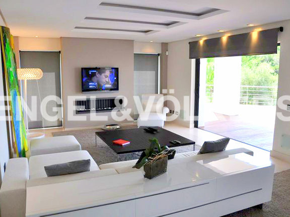 House in Surroundings - Lounge