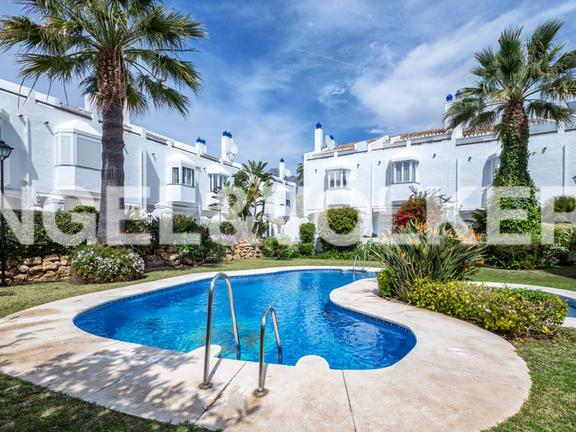 House in Golden Mile - Townhouse for sale in Arco Iris Marbella Golden Mile
