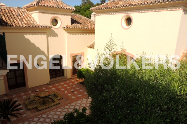 House in Sotogrande Alto - Patio