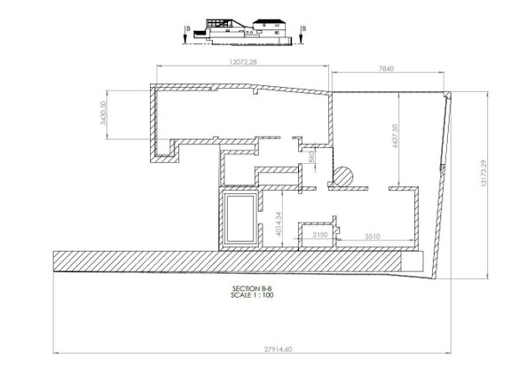 House in Woodstock - Basement Plan