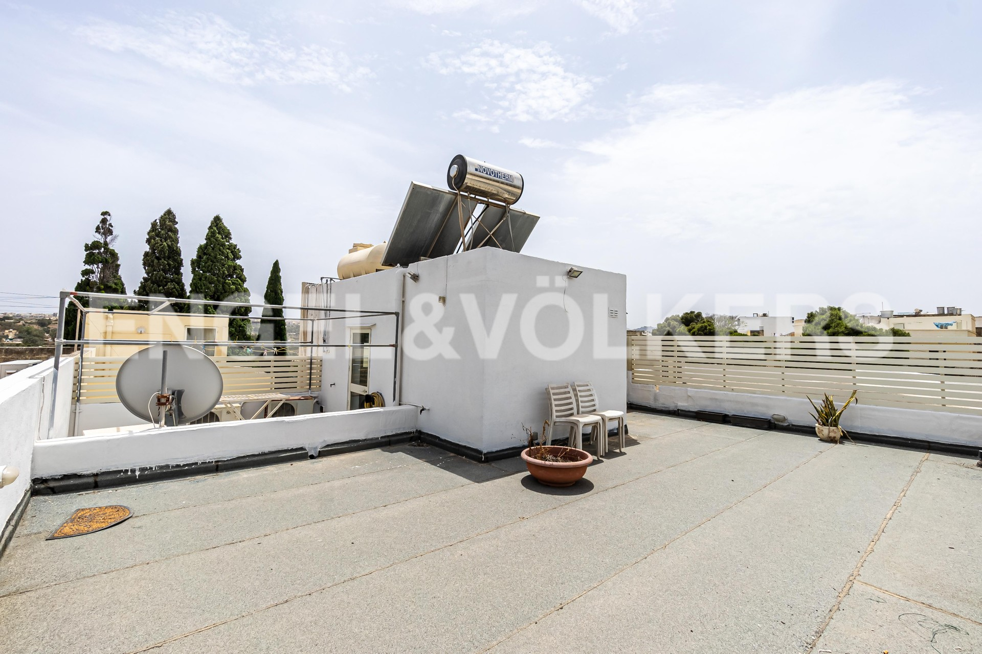 House in Attard - Roof