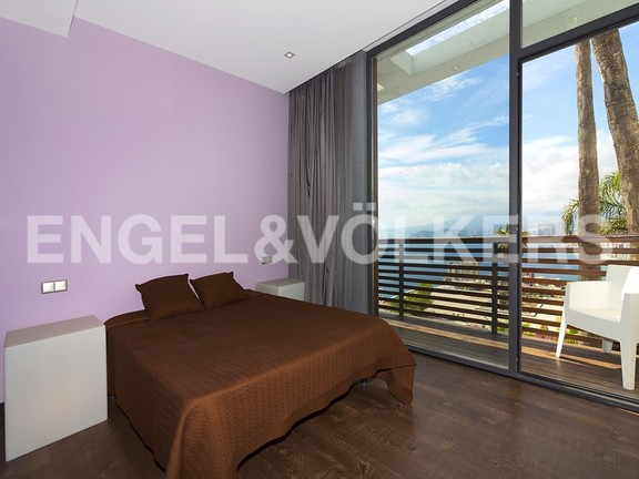 House in Benidorm Rincón de Loix - Ultra luxury villa with breathtaking views. Bedroom