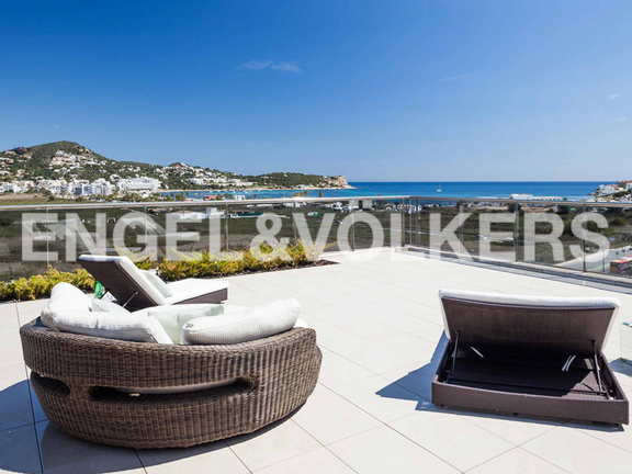 Condominium in Ibiza - Huge terrace with sea views