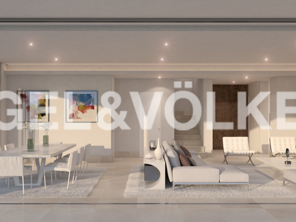 House in Elviria - Modern Open space living-dining area type