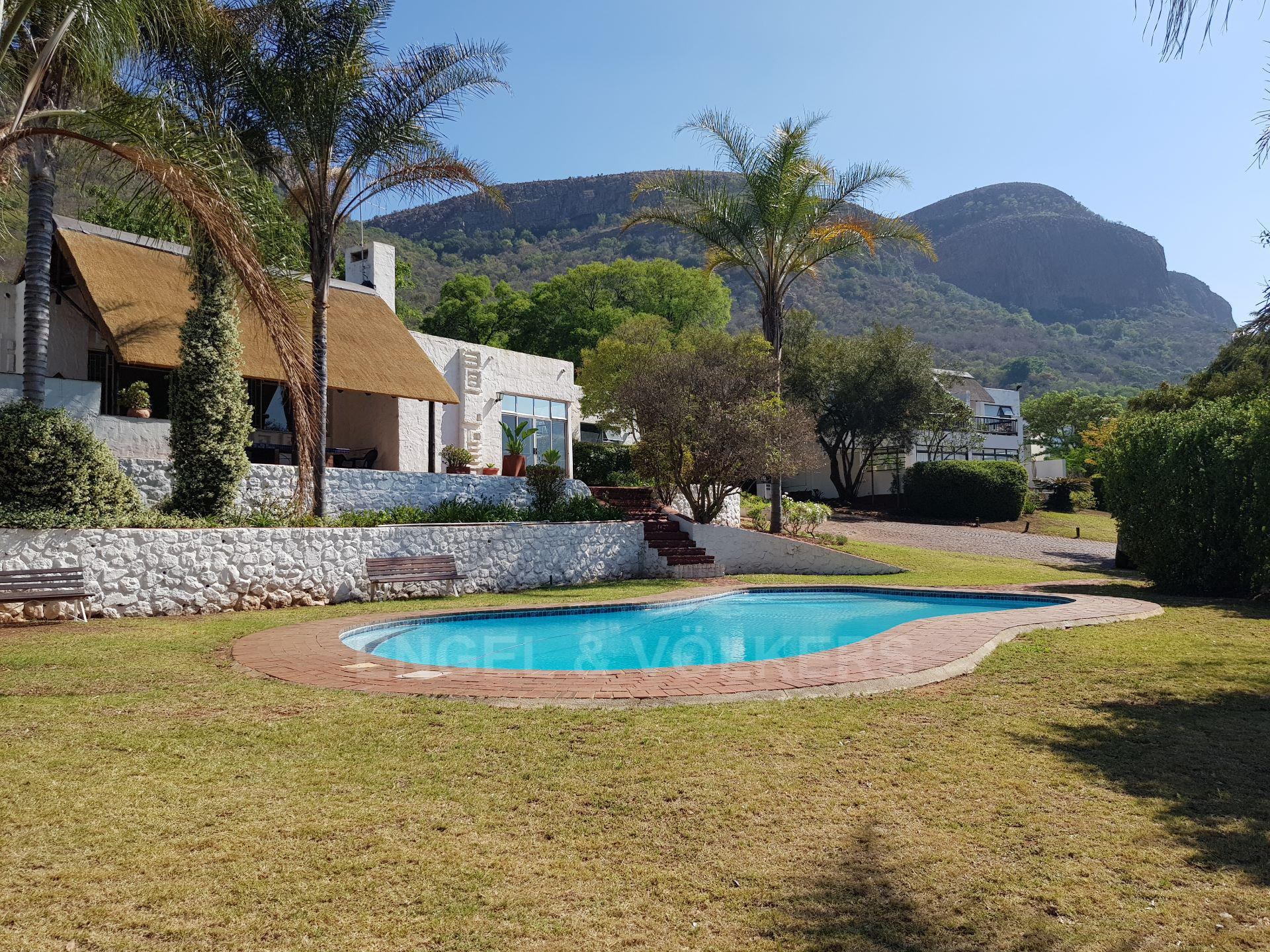 House in Mount Kos - Magaliesberg in the background
