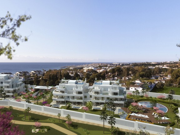 Penthouses for sale in Marbella Golden Mile