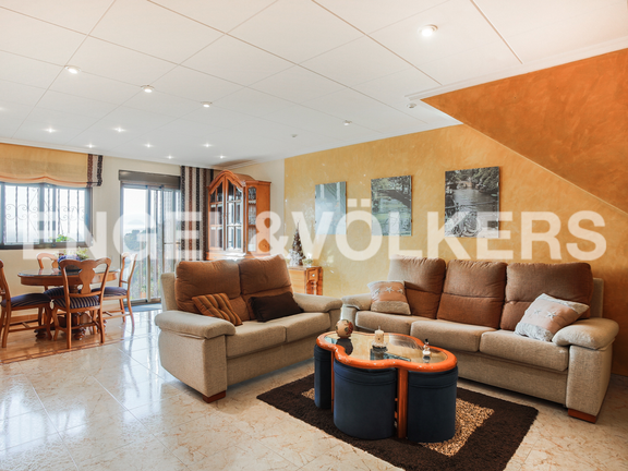 House in Cullera - Living room