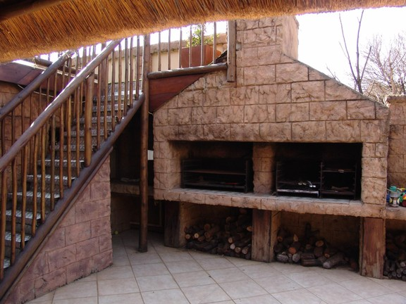 House in Thatch Haven - Braai Area