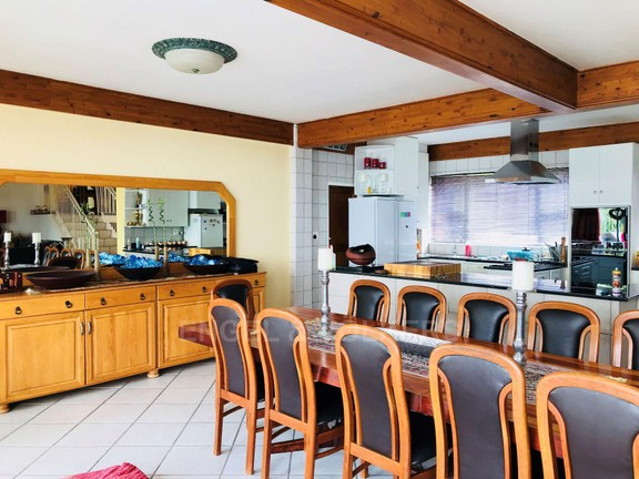 House in Kosmos Village - Kitchen & Dining area.jpg