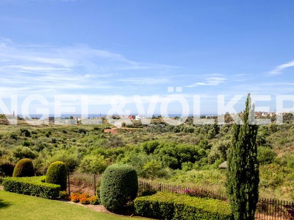 House in Marbella hill club - View
