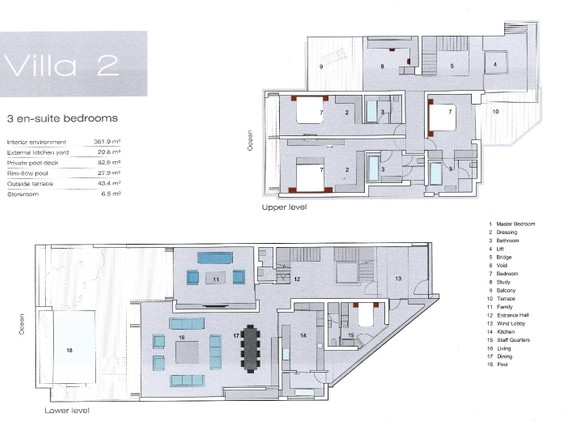 Apartment in Camps Bay - Floor Plans
