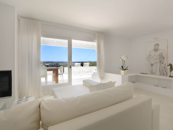 House in Las Salinas - Living room with views
