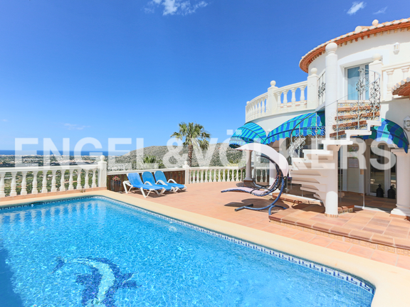 House in La Sella Golf - Villa withviews and 4 bedrooms in La Sella - Denia.
