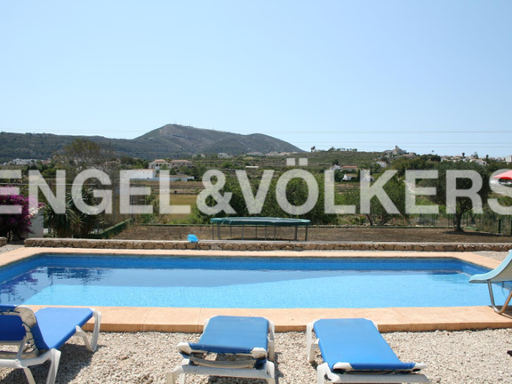 House in Jávea Golf - Rustic Property next to the Javea Golf Course. Swimming pool with views.
