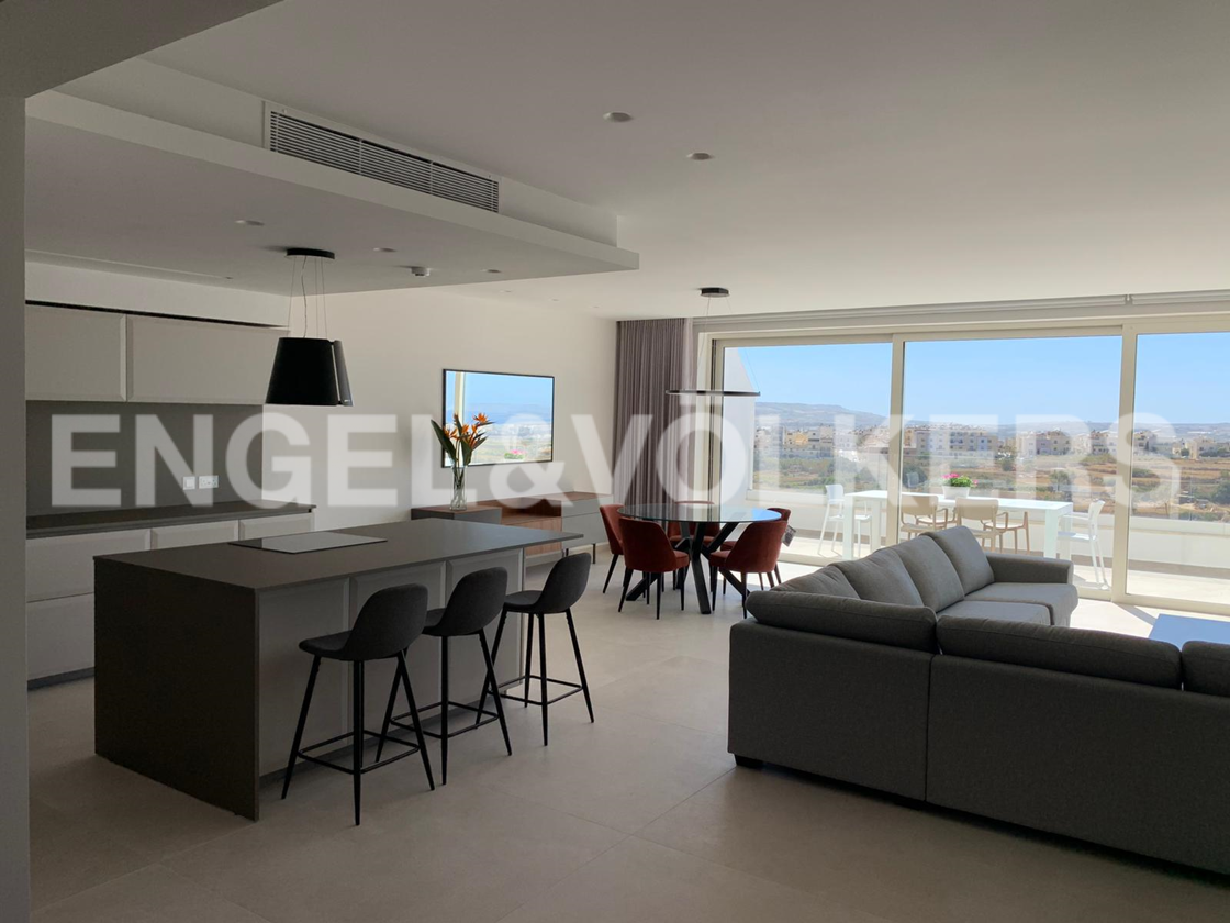 Apartment in Gharghur - Kitchen / Living