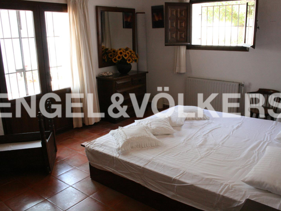 House in Jávea Golf - Rustic Property next to the Javea Golf Course. Bedroom 3.