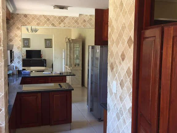 House in Xanadu Eco Park - View from scullery