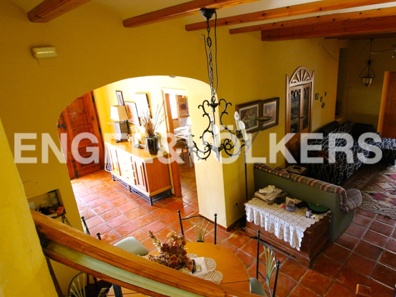 House in Surroundings - Rustic villa in Dénia. Inside view.