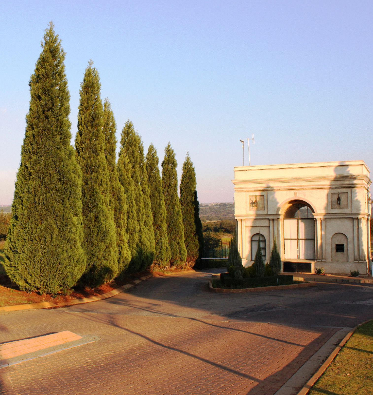 Land in Beau Rivage - Entrance feature