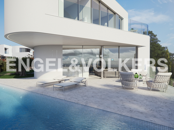 House in Finestrat - Exclusive newly built villa with luxury qualities. Swimming pool