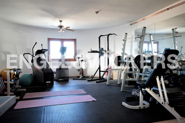 House in Calpe - Gym