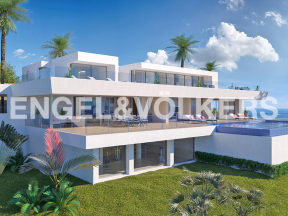 House in Cumbre del Sol - Luxury Villa in Cumbre del Sol, Villa