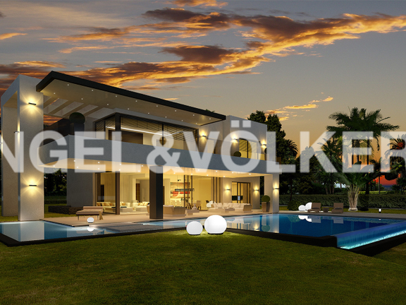 House in Golden Mile - Villa at Night