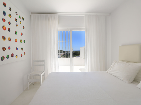 House in Las Salinas - Bedroom with terrace access
