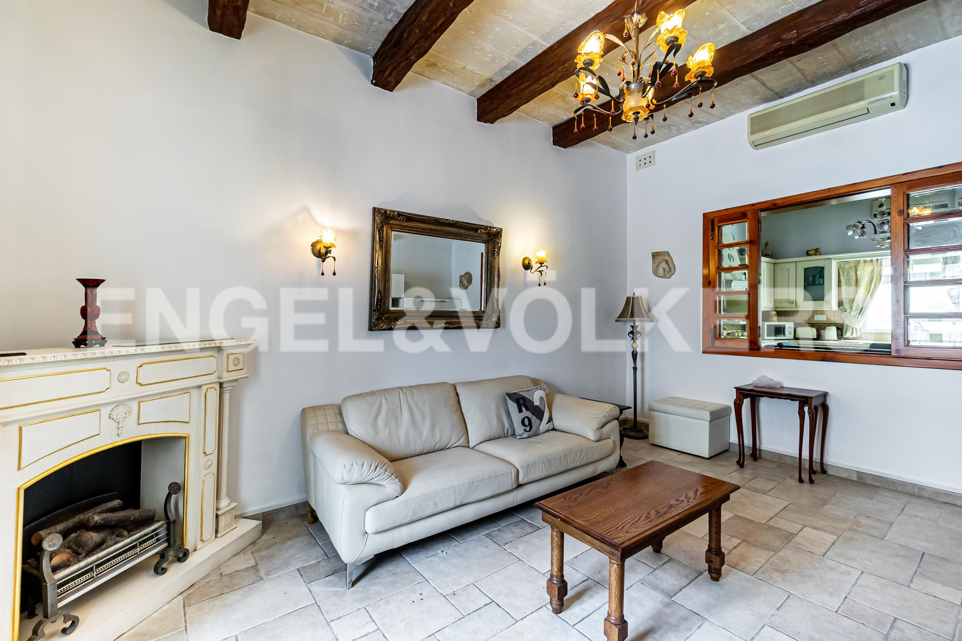 House in Attard - Living Room