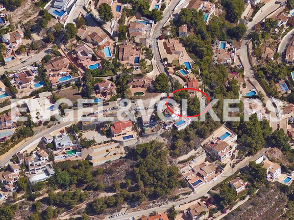 775 m² Plot in Benimeit - Moraira