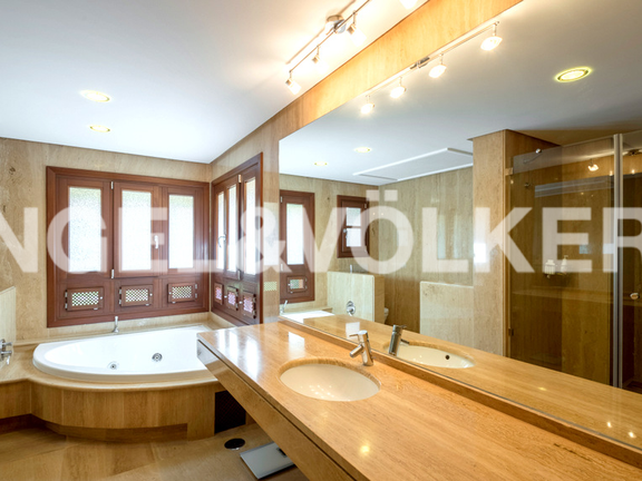 House in Marbella hill club - Master Bathroom