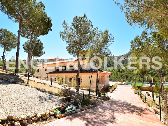 House in Finestrat - Charming villa, in natural environment in Finestrat. Entrance