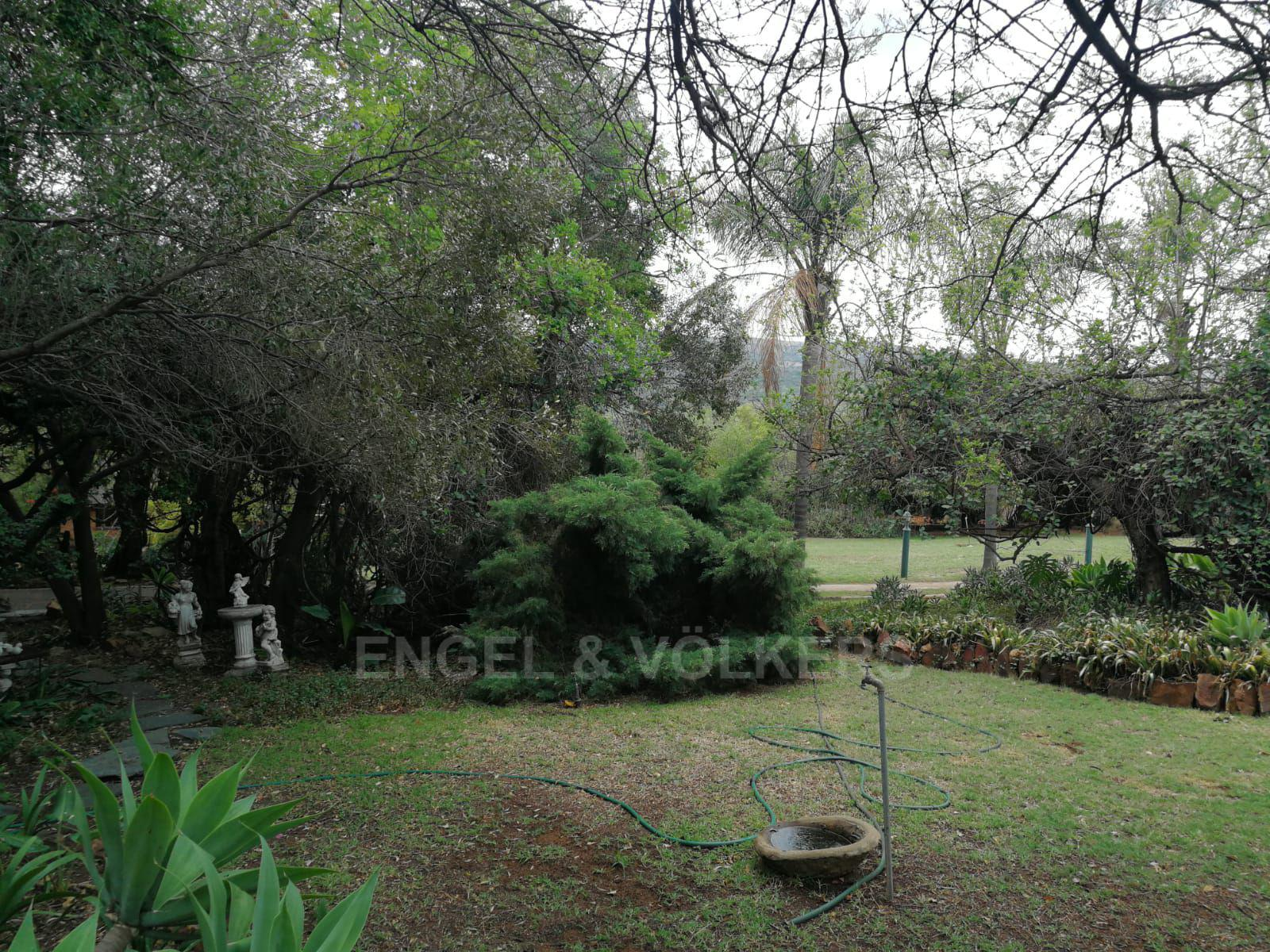 Land in Hartbeespoort Dam Area - Established garden