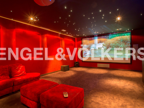 House in Sierra Blanca - Cinema Room