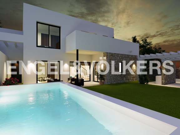 House in Moraira - Modern New Build Property in La Pinada - Moraira, Villa