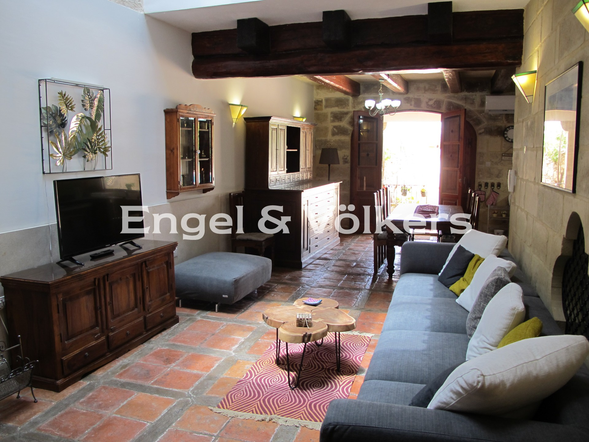 House in Gharghur - House Of Character, Gharghur, Kitchen/Dining/Living