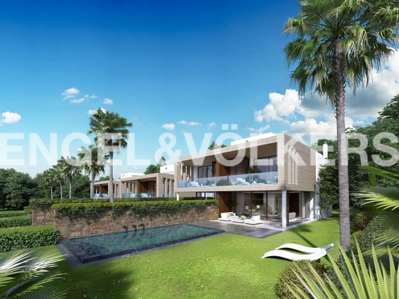 House in Golden Mile - Villa for sale on Marbella Golden Mile
