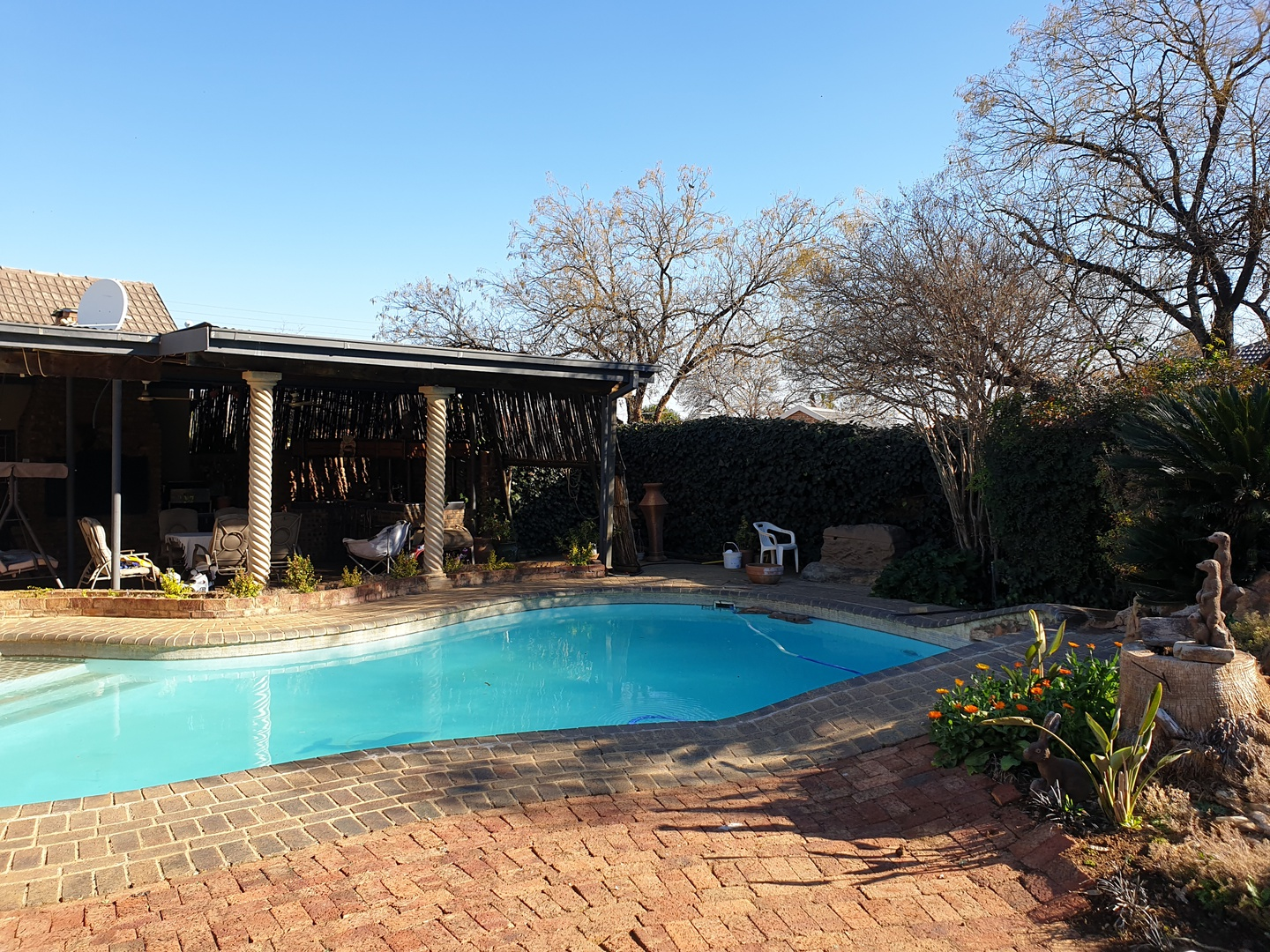House in Bailliepark - Entertainment area/swimming pool