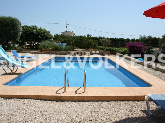 House in Jávea Golf - Rustic Property next to the Javea Golf Course. Swimming Pool.