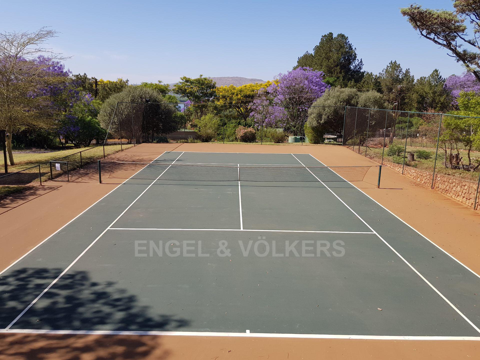House in Mount Kos - Well maintained tennis court