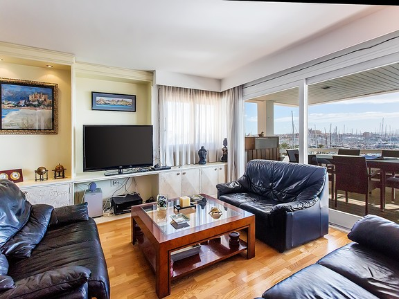 Condominium in Paseo Maritimo - Views from the living room flat on the Paseo Maritimo