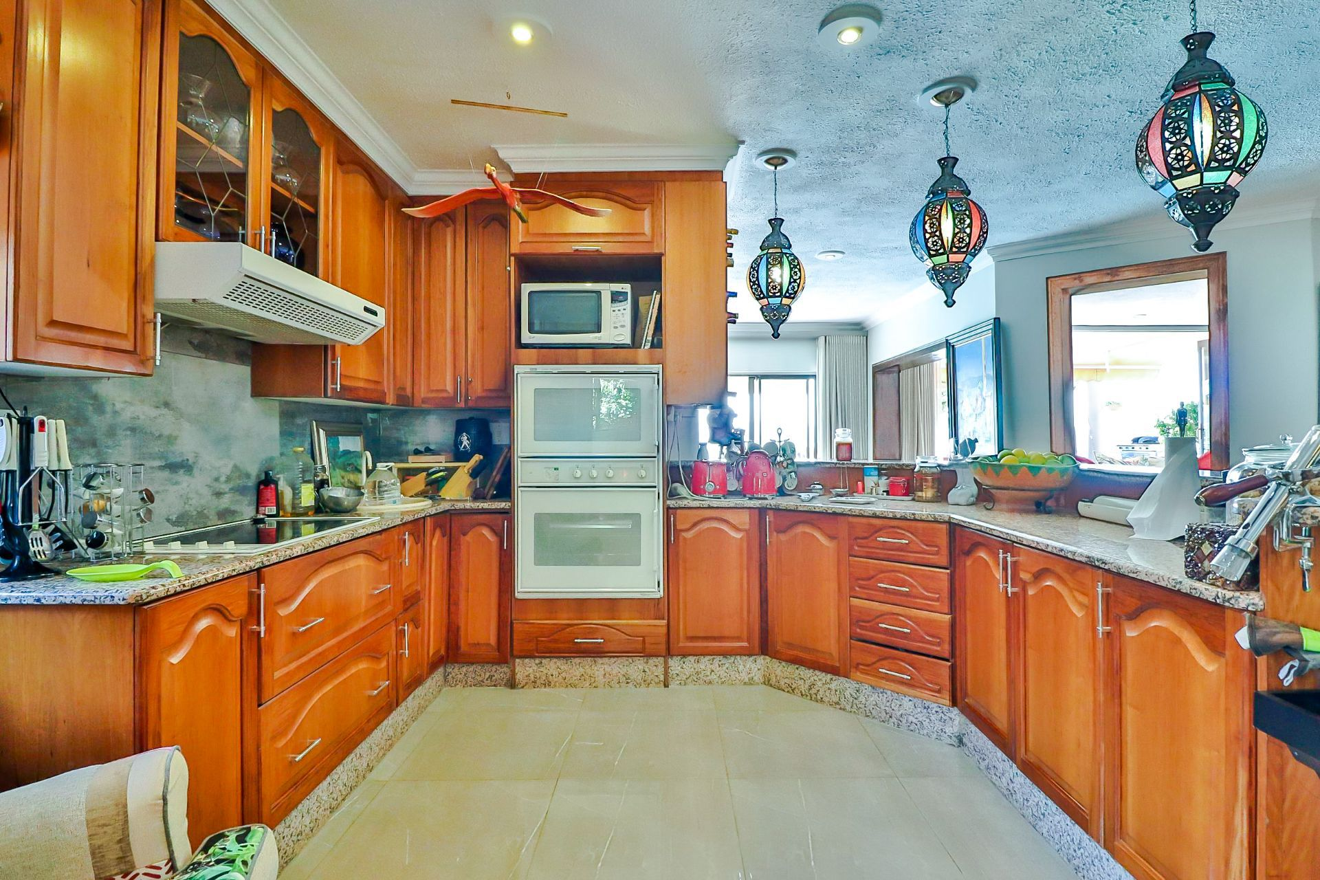 House in Kosmos Village - Kitchen is really spacious and integrates with the other living space