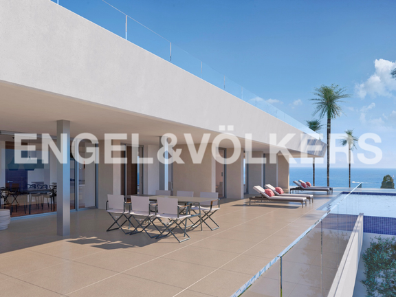 House in Cumbre del Sol - Luxury Villa in Cumbre del Sol, Terrace