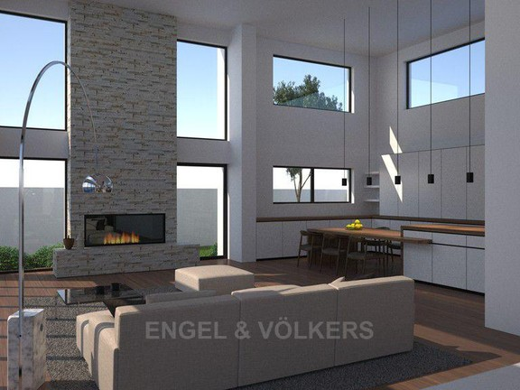 House in Hout Bay - Lounge & kitchen from dining room.jpg