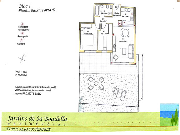 Condominium in Fenals / Clotilde