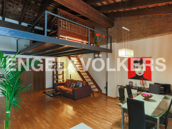 Condominium in Extramurs - General view of the living room and dinning room