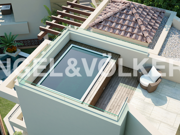 House in Marbella City - Rooftop Terrace